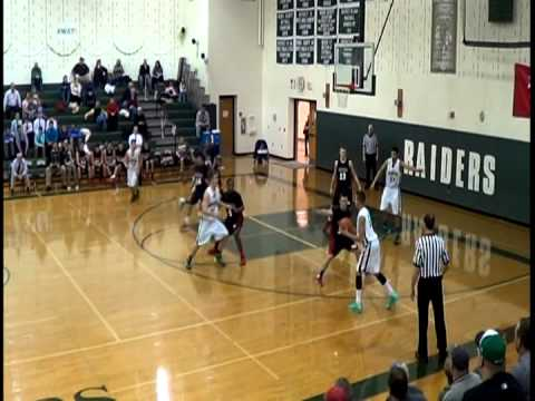 Twin Valley High School (white) vs. Schuylkill Valley High School (black) 2013-2014 season.