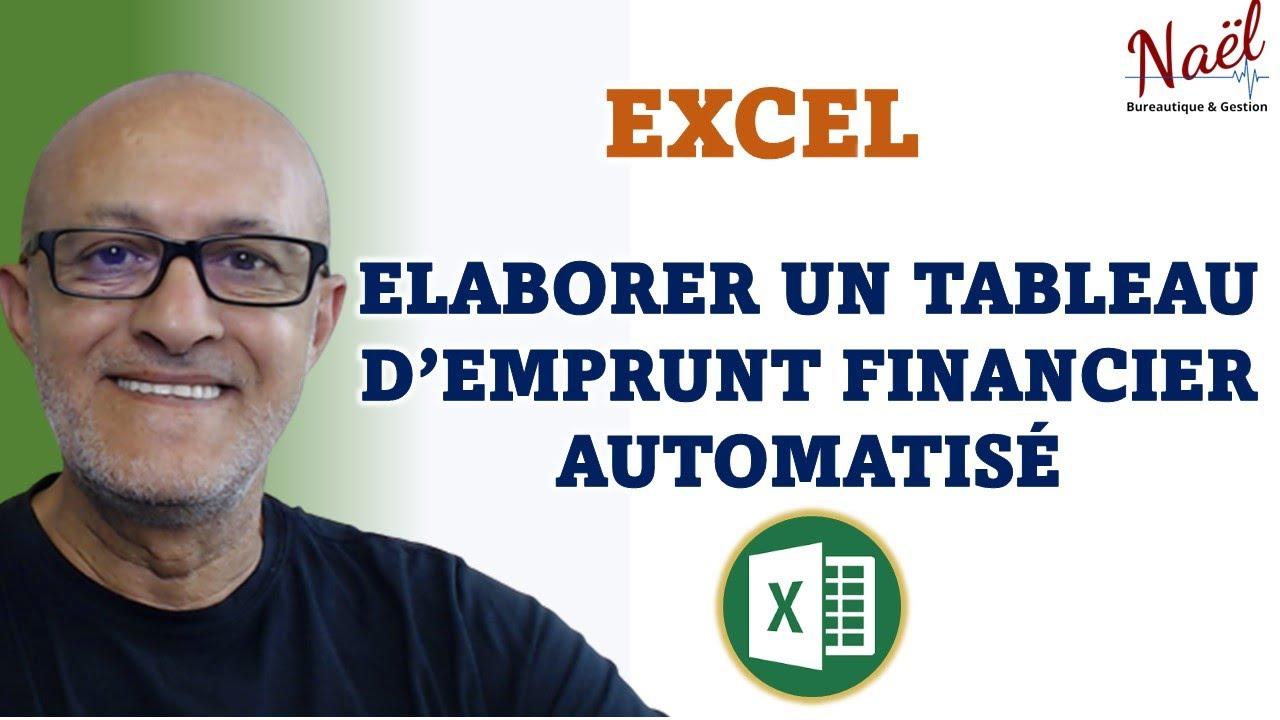 Tableau D Amortissement Date Et Longueur Automatique Excel Downloads
