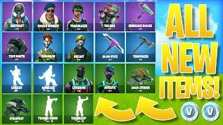 "*ALL NEW* FORTNITE SKINS/ITEMS! - Fortnite SECRET ""NITELITE"" UPDATE LEAKED!"