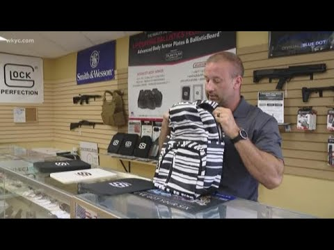 Do bulletproof back packs really work? Channel 3 investigation