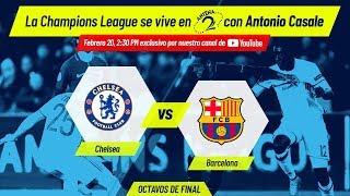 EN VIVO: Chelsea vs Barcelona | Champions League