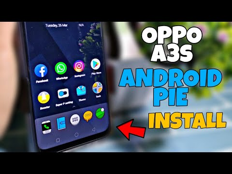 Oppo A3s Android Pie Install | Use Android Pie On Oppo A3s | Faisal Alam  Official