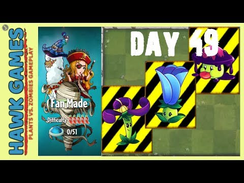 Plants vs. Zombies 2 - Fan Made World by OyKus - Level 49 (Endangered Plants)