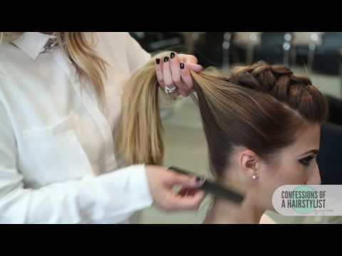 Как сделать небрежный пучок на голове пошаговые фото