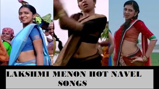 Repeat youtube video LAKSHMI MENON hot navel songs || ultra slo-mo