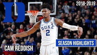 Cam Reddish Duke Freshmen Regular Season Highlights Montage 2018-19 - Smooth!