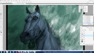 PONYTA...IL NERBORUTO STALLONE FIAMMEGGIANTE! speed drawing & painting