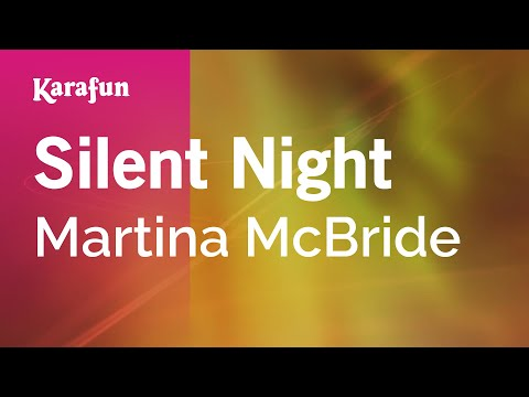 Karaoke Silent Night - Martina McBride *