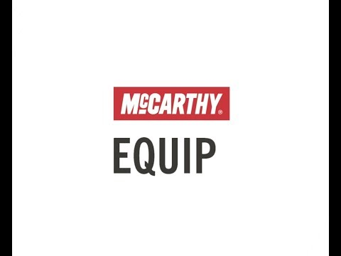 McCarthy EQUIP – A Different Medical Equipment Solution