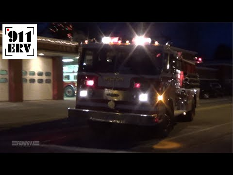 Wilton, NH Engine 1 Responding
