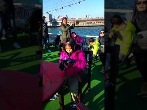 Bosphorus Cruise Istanbul Turkey, 26th Dec 2017