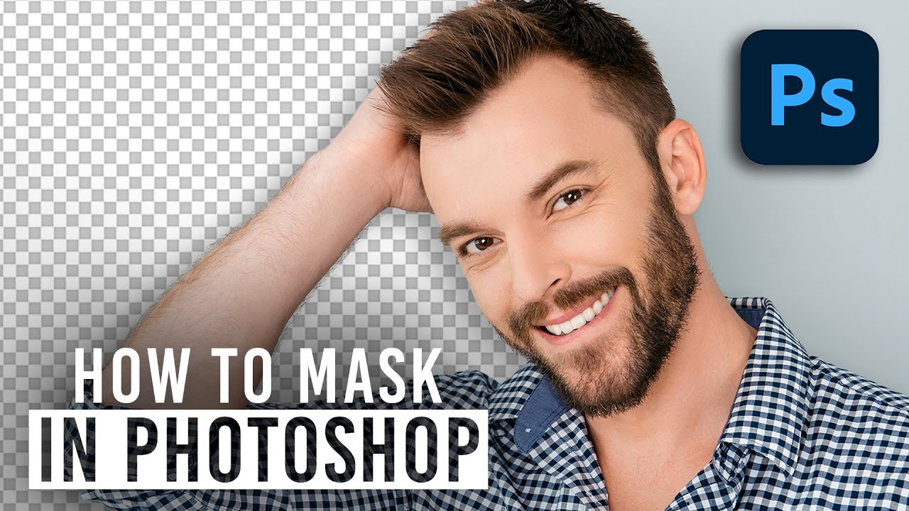 How to Mask in Photoshop 2020 - Select and Mask Tutorial