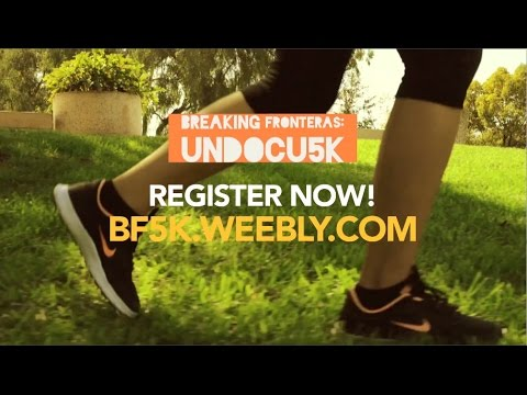 Breaking Fronteras: First Undocu5k run at CSU Long Beach