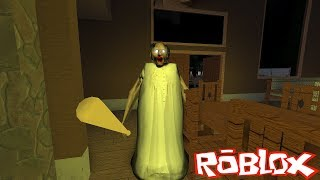 SCARY GRANNY SCHMIDT SAVES the MAN-ROBLOX STORY FLAVOUR