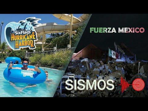 HURRICANE HARBOR CALIFORNIA  /  SISMOS EN MÉXICO