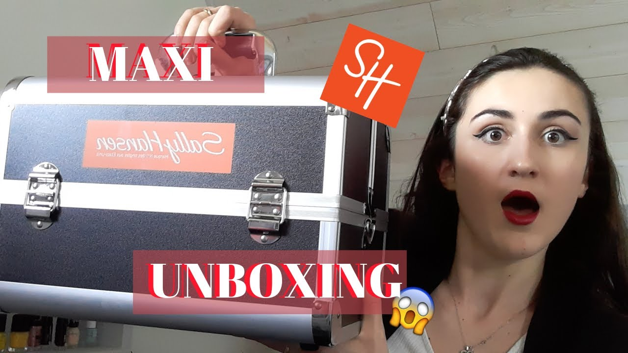 unboxing sally hansen nail product  youtube