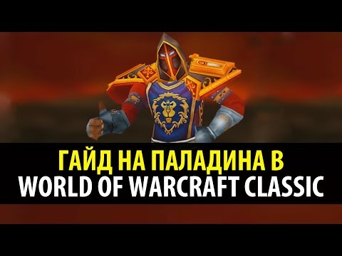 Привкус Ваниллы 🍦 Классовый Гайд на Паладина в WoW Classic