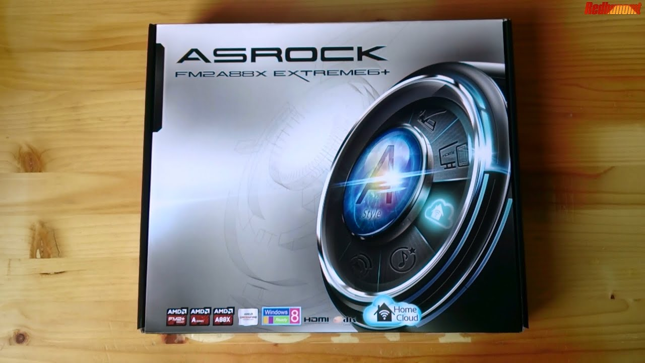 ASRock FM2A88X Extreme6+ AMD All-in-One Driver for Windows 7