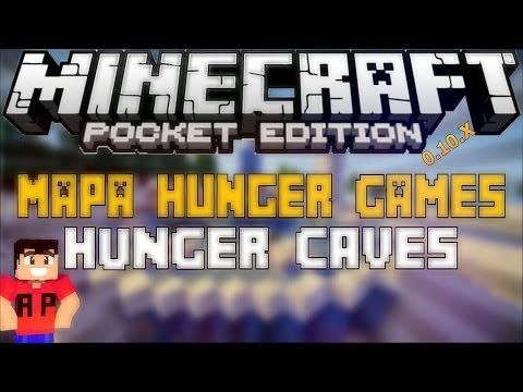 Mapa De Los Juegos Del Hambre Minecraft PE 0.10.5 (Hunger Caves)