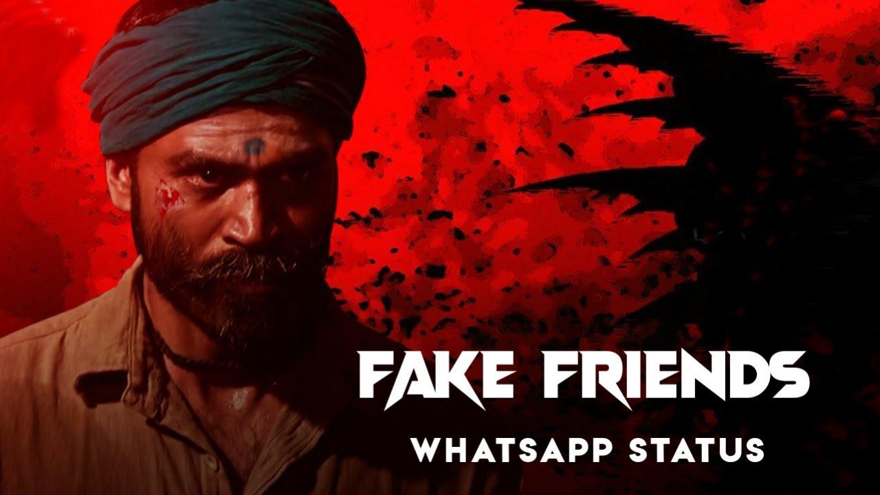 Fake friends whatsapp status tn63_beatz - YouTube