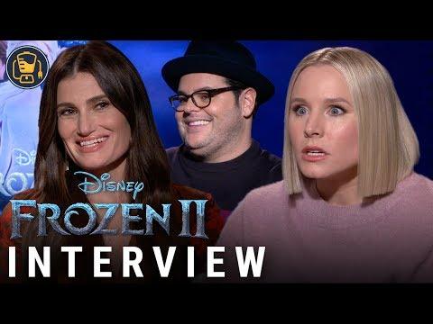 FROZEN 2 Interviews With Kristen Bell, Idina Menzel, Josh Gad And More