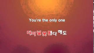 Only one - 보아 [노래방]