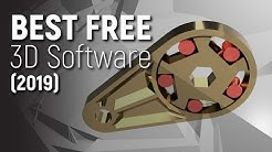 Top 3 FREE 3D Design Software 2019
