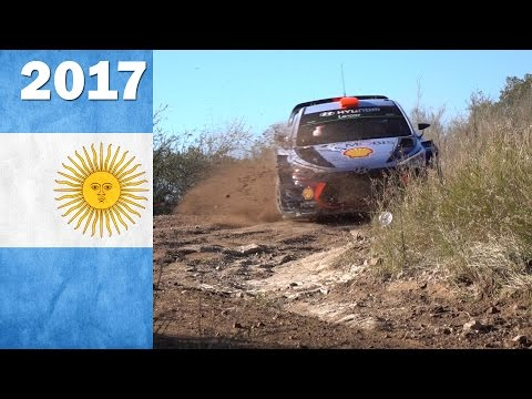 WRC rally Argentina 2017. Best of shakedown.