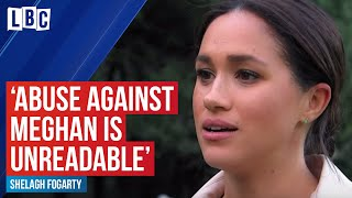 """Tweets of abuse against Meghan Markle are unreadable"""