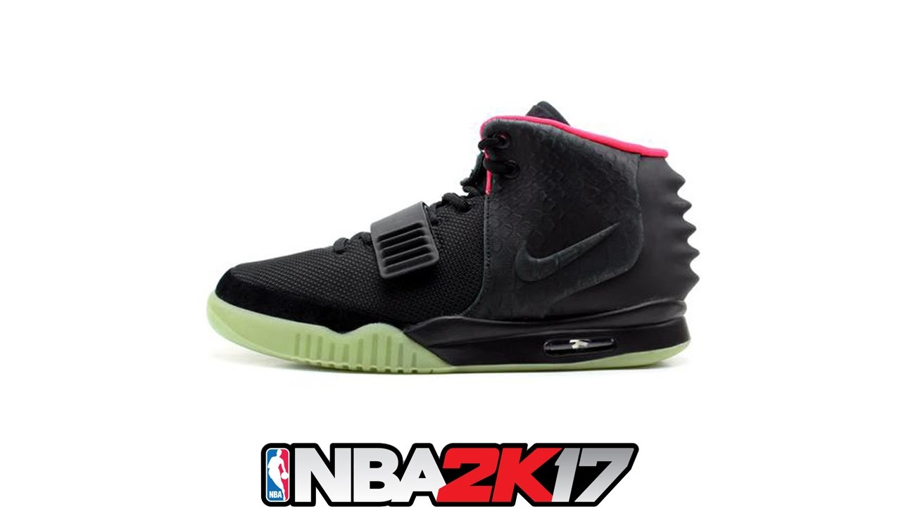 NBA 2K17 Shoe Creator ⋆#NBA2K17⋆ Nike Yeezy 2 Solar Red <div class=