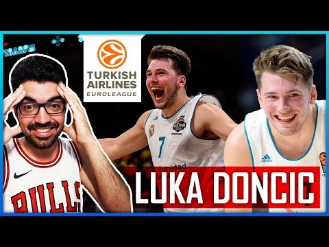 LUKA DONCIC - EL MAYOR TALENTO EUROPEO - DRAFT 2018 - DALLAS MAVS - REACCIÓN