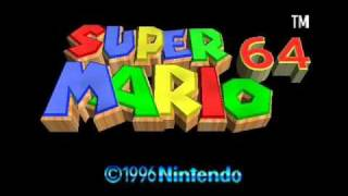 Super Mario 64 Soundtrack - Haunted House