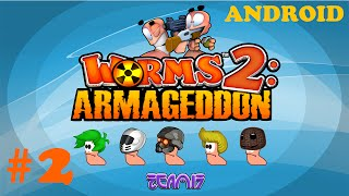 Worms 2: Armageddon Android Gameplay #2