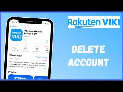 How to Delete Viki Account   2021