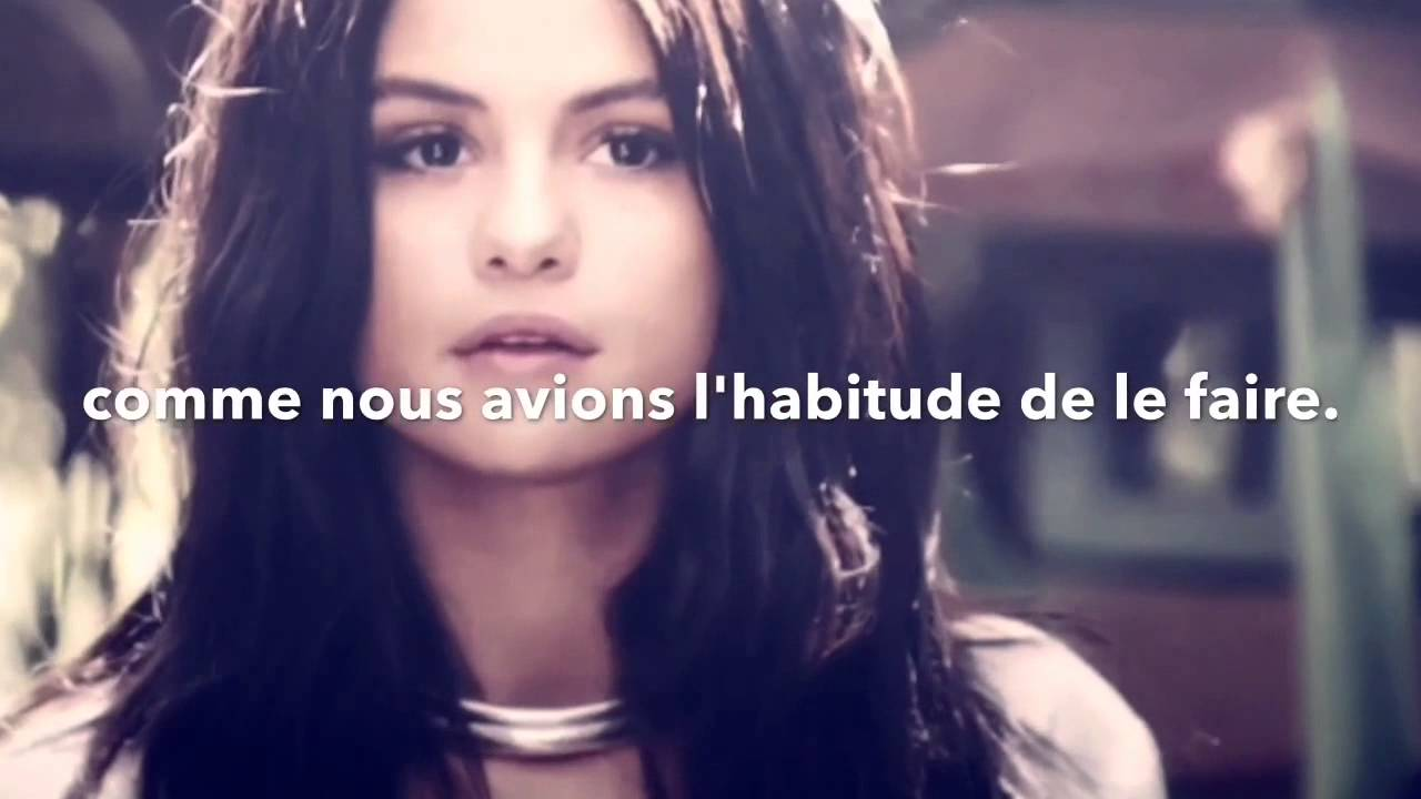 Charlie Puth Ft Selena Gomez We Dont Talk Anymore Traduction Francaise
