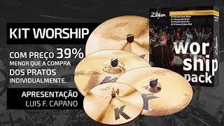 Zildjian® KIT WORSHIP - Preço 39% menor!