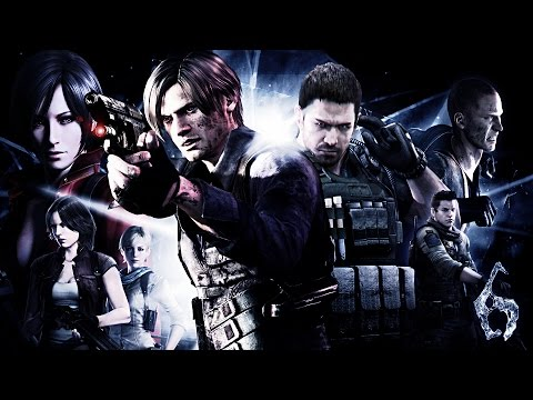 RESIDENT EVIL w/ MY GIRLFRIEND!! (Resident Evil 6