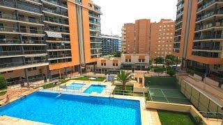 видео Квартира в Испании, Аликанте, недорого, район Bulevar Del Pla у торгового центра Plaza Mar