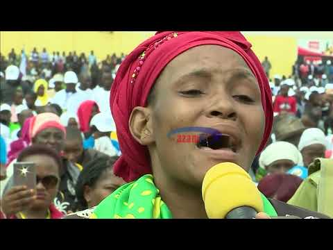 Mama Amlilia Magufuli Kwenye Sherehe Za Mei Mosi, Kisa Kipigo Kutoka Kwa Shemeji Yake