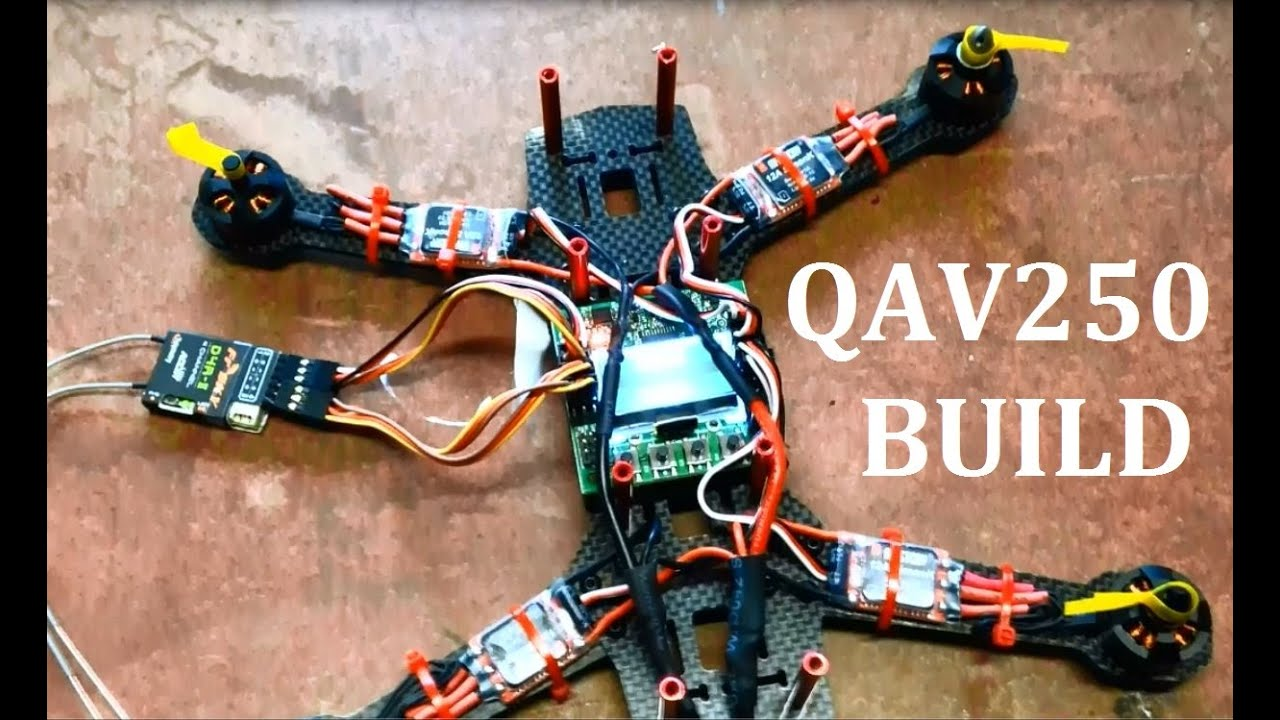 qav250 fpv quadcopter build mystery 12a esc emax 1806 2280kv qav250 fpv quadcopter build mystery 12a esc emax 1806 2280kv motors kk2