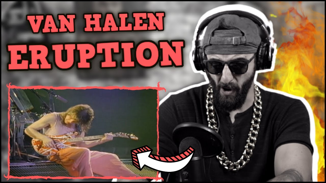 HOW!?!? Rap Fan's First REACTION to VAN HALEN - ERUPTION GUITAR SOLO