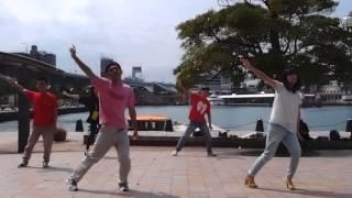 2014/9/21 ℃-ute福岡の開演前に有志で踊ってました。 ぐだぐだですみま...