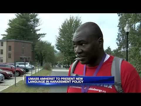 UMass to present new language in harassment policy