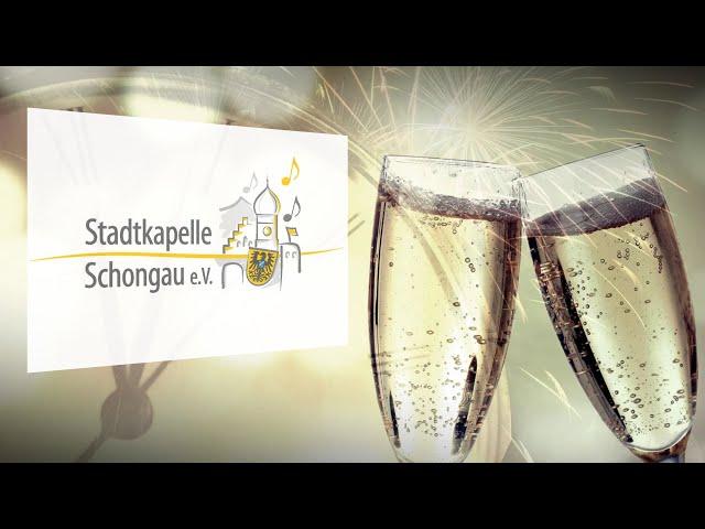 Videogruß zu Neujahr 2021 Stadtkapelle Schongau