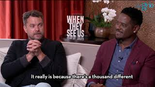 Actors Blair Underwood and Joshua Jackson on the power of telling the story of 'When They See Us'