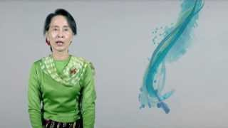 Nobel laureate Daw Aung San Suu Kyi launches zerodiscrimination campaign