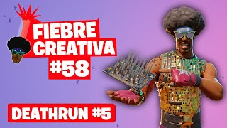 DEATHRUN 5 - Fortnite Fiebre Creativa - Episodio 58