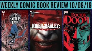 Weekly Comic Book Review 10/09/19