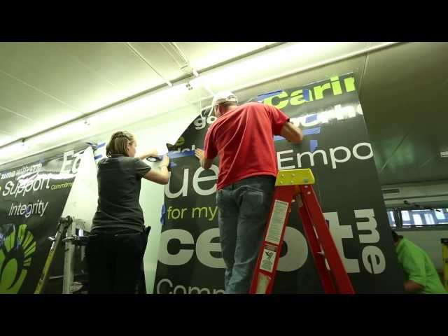 Video Thumbnail of Huston Electric 838 Sign Co - Bauer Community Center Project 2013