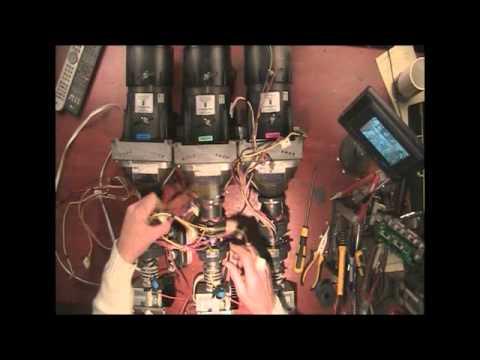 Projector Autopsy - Taking it apart.